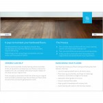 Hardwood Cleaning Brochure (pack of 50)